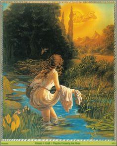 Psyche Crossing The River - Kinuko Y. Craft