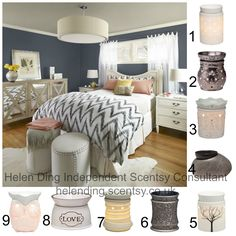 10% off in August 2014 - Which Scentsy Warmer would you choose for this room?…