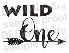 Wild One Arrow - Instant Download DIY - JPG image & SVG cut - Printable Digital Iron On - first birthday baby bohemian tribal aztec feather Where the Wild Things Are birthday party