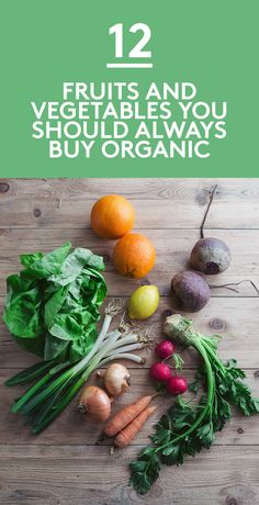 12 Fruits and Vegetables You Should Always Buy Organic | Check this out before finalizing your grocery list.