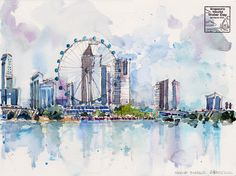 Singapore World Water Day @ Marina Barrage by PaulArtSG