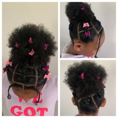 Mixed Kids Hairstyles, Lil Girl Hairstyles, Girls Natural Hairstyles, Natural Hairstyles For Kids, Gorgeous Hairstyles, Braided Hairstyles, Toddler Braids, Toddler Hair, Natural Hair Braids