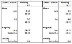 Cru Wine, Planning Calendar, Alsace, Wine Tasting, Wine Recipes, Tours France