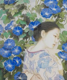 Kai Fine Art is an art website, shows painting and illustration works all over the world. Japan Travel Agency, Japan Travel Guide, Japanese Modern, Japanese Art, Painter Artist, Japanese Embroidery, Japanese Painting, Painting & Drawing, Fine Art