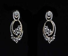 Tanishq Inara collection of diamond bridal jewels Diamond Pendant, Diamond Jewelry, Gold Jewelry, Real Diamond Earrings, Diamond Chandelier Earrings, Diamond Rings, Ear Jewelry, Bridal Jewelry, Men's Jewellery
