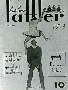 July 19, 1940 Harlem Tattler, Featuring Frankie Manning & Ann Johnson