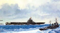 Imperial Japanese Navy, War Thunder, Naval History, Ship Art, Aircraft Carrier, Model Ships, Military Art, Battleship, Wwii