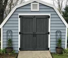 Farmhouse Shed Makeover