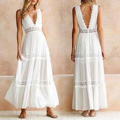 Elegant Puppe Prinzessin Kleid V-Ausschnitt Ballkleid Abendkleid für 29cm