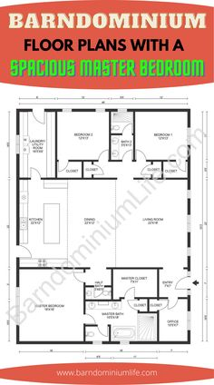 Barn Homes Floor Plans, Metal House Plans, Pole Barn House Plans, Pole Barn Homes, New House Plans, Dream House Plans, Small House Plans, House Floor Plans, House Layout Plans