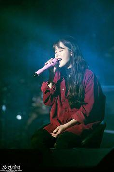 """IU 171203 """"Palette"""" Concert in Cheongju Wonder Girls Members, Real Angels, Oppa Gangnam Style, Feel Tired, Pop Singers, Korean Celebrities, Little Sisters, Japanese Fashion, Korean Singer"""
