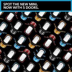 Who can spot the hidden MINI 5-door?