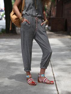 Christophe Sauvat Warrior Sandal at Free People Clothing Boutique
