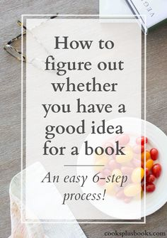 A Literary Agent's explainer on how to figure out if your book idea is great or not there yet! Plus an easy 6-step process for researching and brainstorming a book concept that will wow literary agents and publishers.
