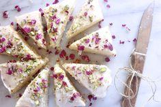 Elderflower + Lemon Cake