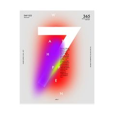Baugasm - One poster every day for 365 on Behance