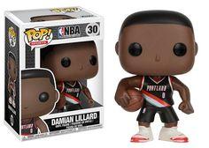 POP! NBA # 30: Portland Trail Blazers: DAMIAN LILLARD