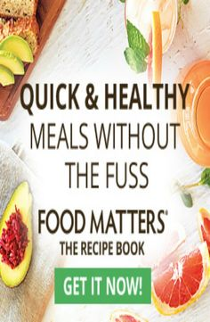 Because you deserve it foodmatters foodmatters quick healthy recipes is what we all need who has time to spend hours forumfinder Choice Image