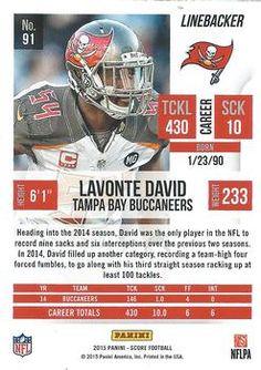 2015 Score #91 Lavonte David Back