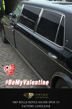 Meet Diane, she loves living in the lap of luxury and she never minds when you have company. Diane is a pure class act...  1987 Rolls Royce Silver Spur III Factory Limousine  #BeMyValentine #ClassicCars #VintageCars #RollsRoyce #ValentinesDay