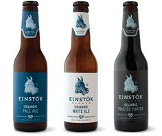 Sweet #packaging #design. Einstok Beer Company