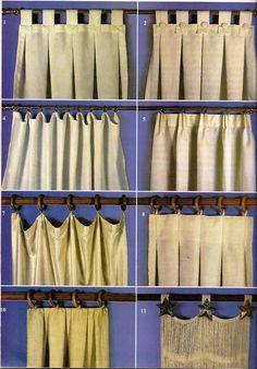 cortinas http://patriciaalberca.blogspot.com.es/ Mais
