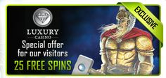 40 Free Spins at Luxury Casino