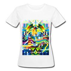 Malerei mit Wasserfarben - Frauen Bio-T-Shirt