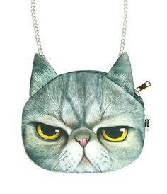 GRUMPY KITTY HANDBAG – tibbs & BONES