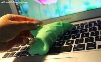 Fabriquer la pâte nettoyante ou le Slime