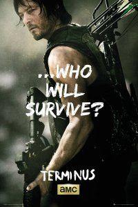 The Walking Dead Daryl Survive plakat 61x91,5 cm