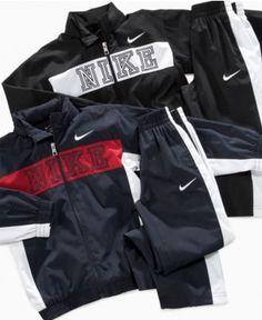 Nike Kids Set, Little Boys Full Zip Tricot Jacket and Pant - Kids Boys 2-7 - Macy's