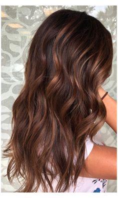 Brown Auburn Hair, Auburn Hair Balayage, Blonde Highlights On Dark Hair, Balayage Hair Caramel, Hair Color Auburn, Brown Blonde Hair, Balayage Brunette, Light Brown Hair, Brown Hair Colors