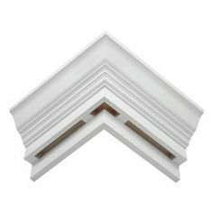 """22""""W x 9 5/16""""H x 7 7/16""""P Mitered Outside Corner (for use with EV570) by Fypon, Ltd.. $59.95. 22""""W x 9 5/16""""H x 7 7/16""""P Mitered Outside Corner (for use with EV570)"""