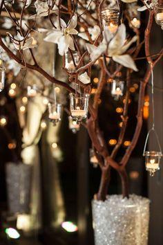 Winter wedding idea. #winterwedding  Repin by Inweddingdress.com