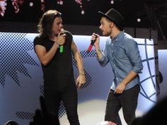 Harry & Liam on stage at the Canadian Tire Centre in Ottawa - 08.09.15
