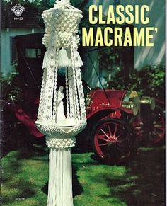Classic Macrame Pattern Book HH33 by grammysyarngarden on Etsy, $9.00