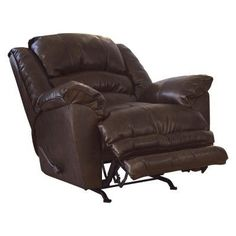 Catnapper Filmore Bonded Leather Chaise Rocker Recliner - 47452122319302300  sc 1 st  Pinterest : catnapper jackpot reclining chaise - Sectionals, Sofas & Couches