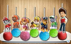 ***INSTANT DOWNLOAD*** Paw Patrol Cake Pop TOPPERS in 2 sizes (2.5 and 2 inches) --Pups are approximately 2.5 inches tall (BIG) --Pups are approximately 2 inches tall depends on the character (SMALL) --Ryder is 3-3.5 inches tall  DOUBLE-SIDED  BORDERED/OUTLINED for easier cutting Recommended paper to use-- CARD STOCK PAPER  This listing is for the DIGITAL FILE ONLY which you can then print, cut and assemble as many as you need from home or printing shop.  After confirmed payment, the JPEG…