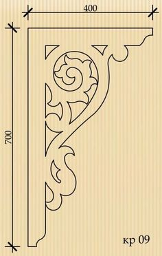 Каталог / Тульский узор Stencil for door or verandah corner trim ? Woodworking Patterns, Woodworking Plans, Woodworking Projects, Wood Crafts, Diy And Crafts, Wooden Corbels, Scroll Saw Patterns, Cross Patterns, Art Patterns
