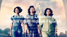 Hidden Figures is Disney's latest release telling the story of a team of African-American women who helped NASA send astronaut John Glenn into outer space and return safely. The movie Hidden Figures shares their struggles as DorothyVaughn (Octavia Spencer), Mary Jackson (Janelle Monáe), and Katherine (Goble) Johnson (Taraji P. Henson) crossed gender, racial, and societal […]