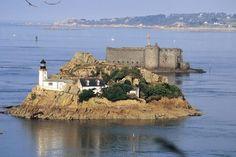 Le phare de l'île Louët - Morlaix