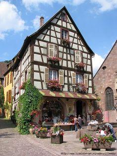 Fachwerk - half timbered house - Germany