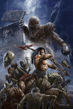 Army Of The Dead, #Fantasy, #Paintings & #Airbrushing
