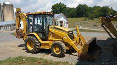 1998 Caterpillar 416C Backhoe Loader Extenda Hoe Hydraulic Diesel Hoe Cab w/ AC