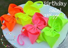 Boutique Bow SALE!!! #bigbows #neons #pastel  https://www.facebook.com/gracefulgirls/posts/10152682448251601:0