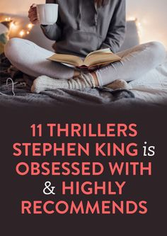 11 Thrillers That Stephen King Recommends
