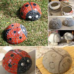 Ladybug Mosaics