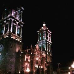Catedral Puebla, Puebla, México