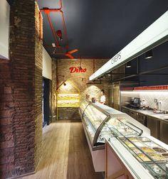 DINO Ice Cream Shop , Barcelona, 2016 - Jordi Ginabreda Studio